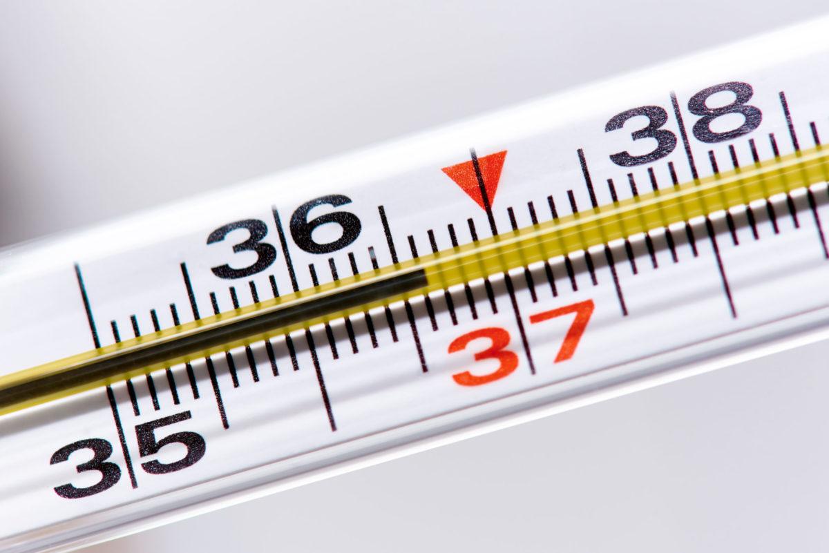Kuumeen mittaaminen
